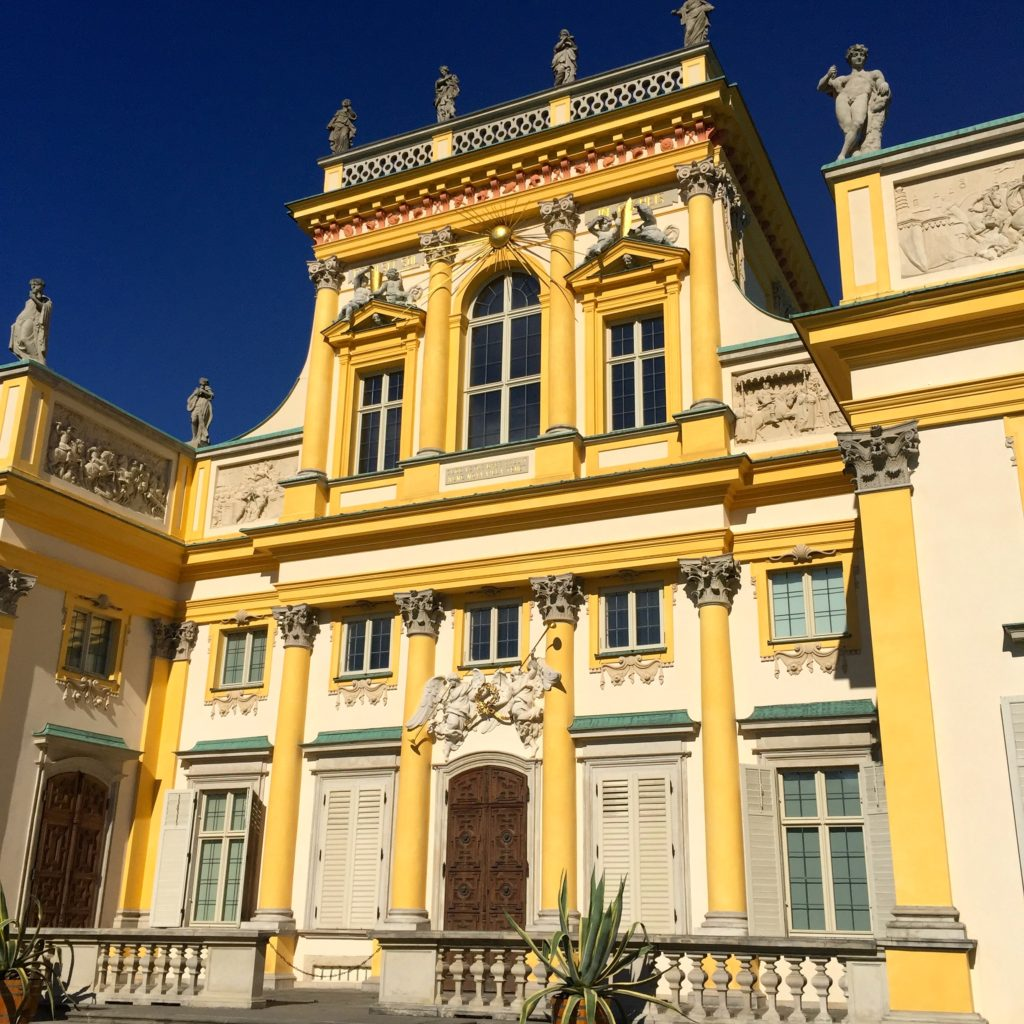 warsaw-attractions-wilanow-palace